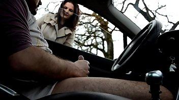 โม๊คในรถ เลียไข่ เย็ดหีบนรถ เย็ดบนรถ หนังโป๊ฝรั่งHD