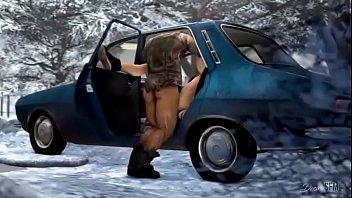 โป๊มังงะฟรี แอบเย็ดเมียน้อย เอาในรถ เลียหัวนม เย็ดแรง