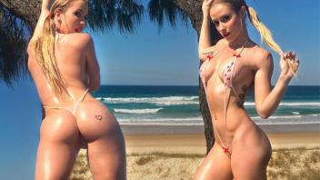 โป๊เด็ดเย็ดหีริมทะเล เย้ดสาวผมทอง เย็ดริมชายหาด เย็ดกันนอกสถานที่ เย็ด